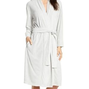 New Natori Sierra brushed robe lilac size XL